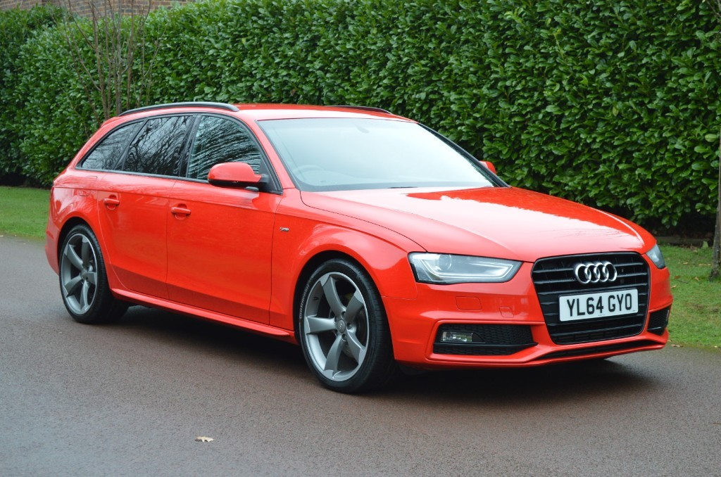 used Audi A4 AVANT TDI S LINE BLACK EDITION in hersham-surrey