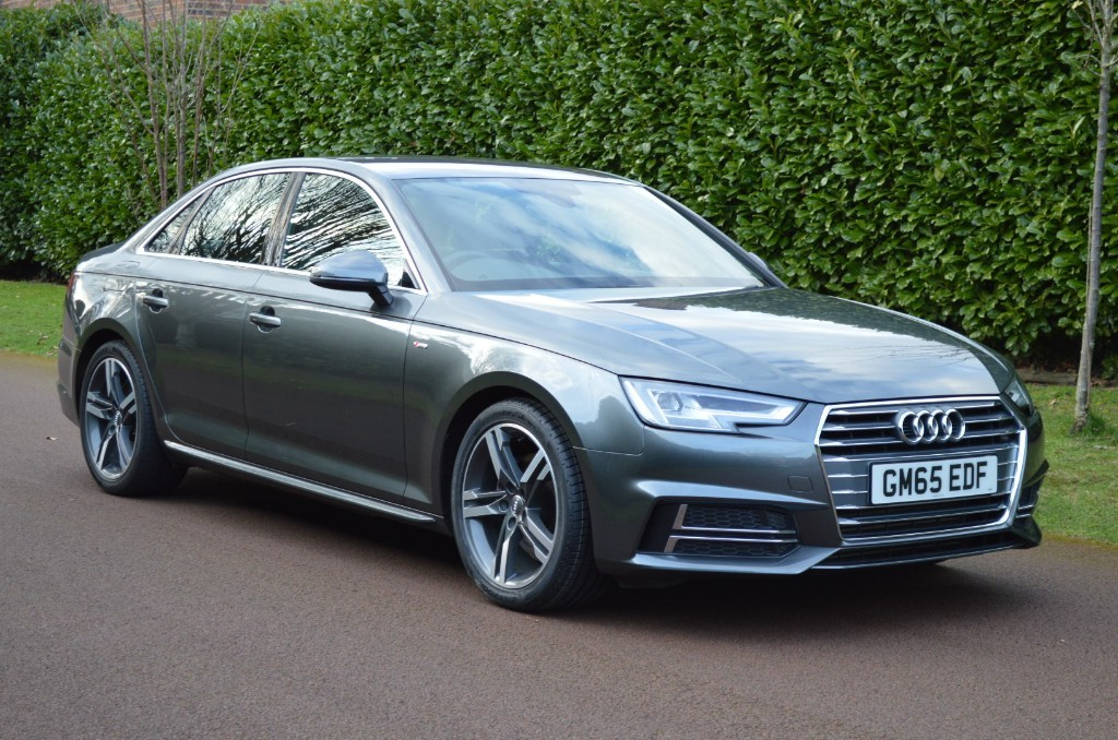 used Audi A4 TFSI S LINE in hersham-surrey