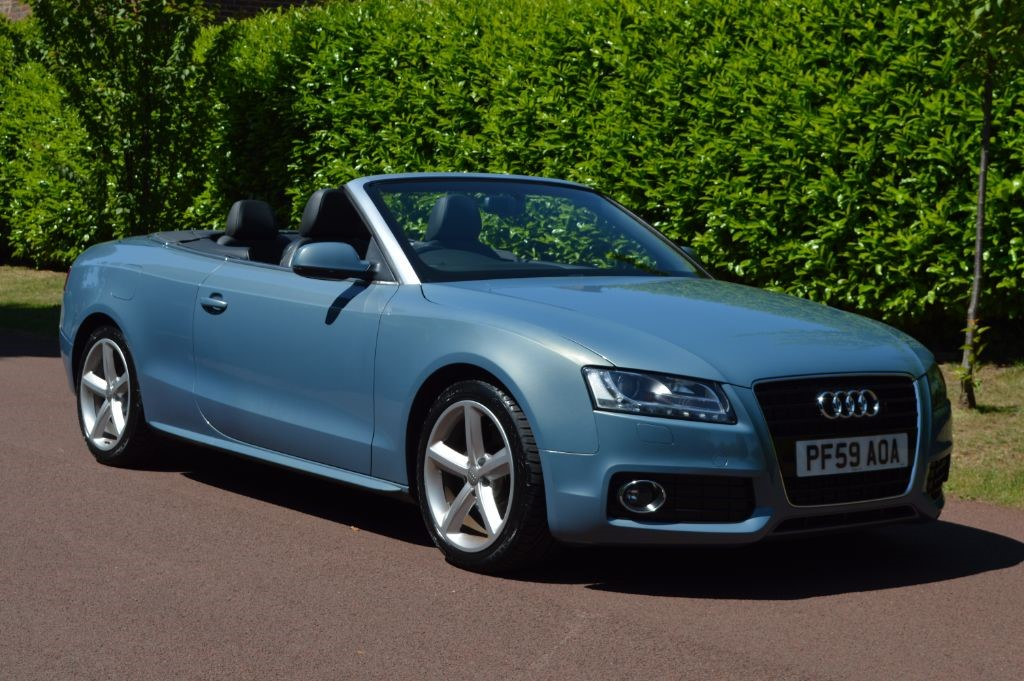 used Audi A5 TDI QUATTRO S LINE in hersham-surrey