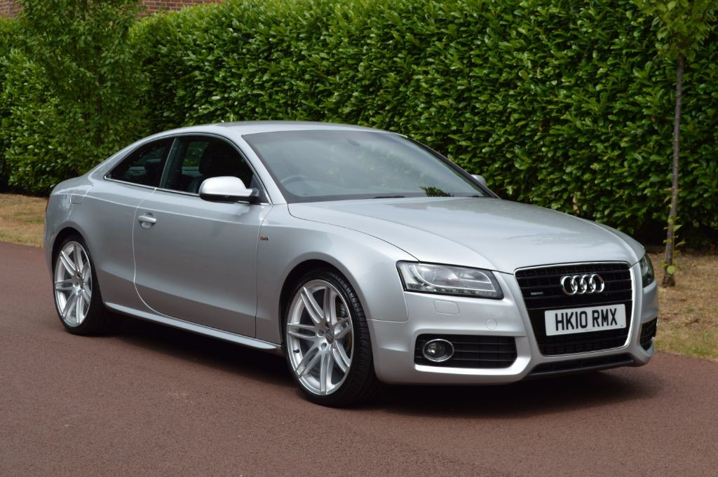 used Audi A5 TDI QUATTRO DPF S LINE in hersham-surrey
