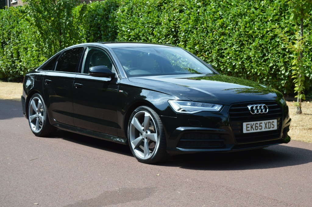used Audi A6 TDI ULTRA S LINE BLACK EDITION in hersham-surrey
