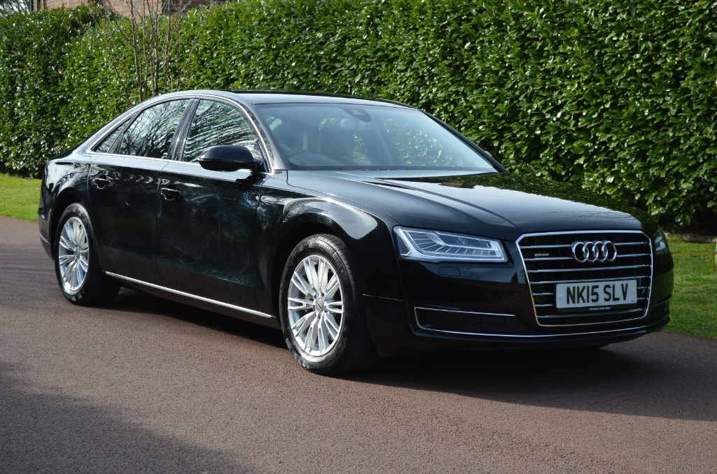 used Audi A8 TDI QUATTRO SE in hersham-surrey
