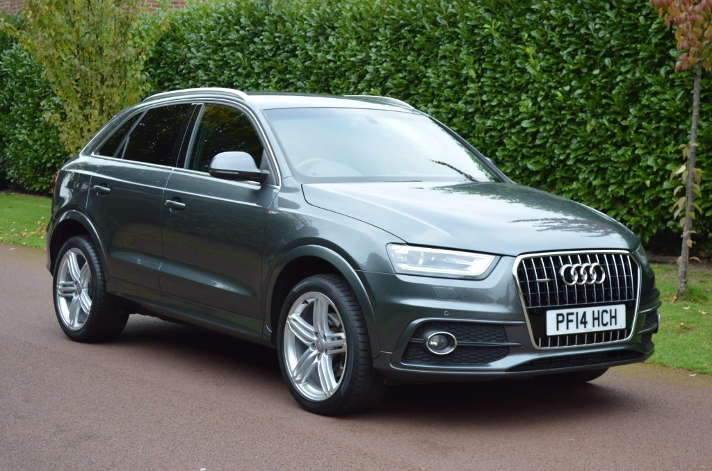 used Audi Q3 TDI S LINE PLUS QUATTRO in hersham-surrey