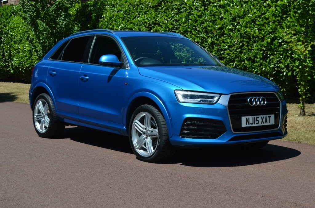 used Audi Q3 TDI QUATTRO S LINE PLUS in hersham-surrey