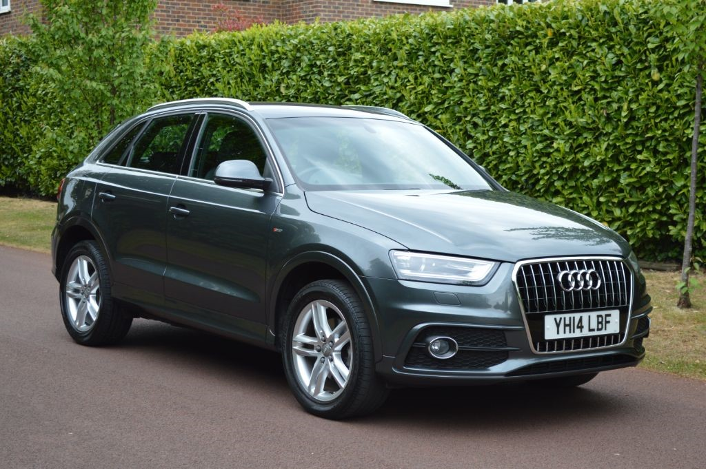 used Audi Q3 TDI S LINE in hersham-surrey