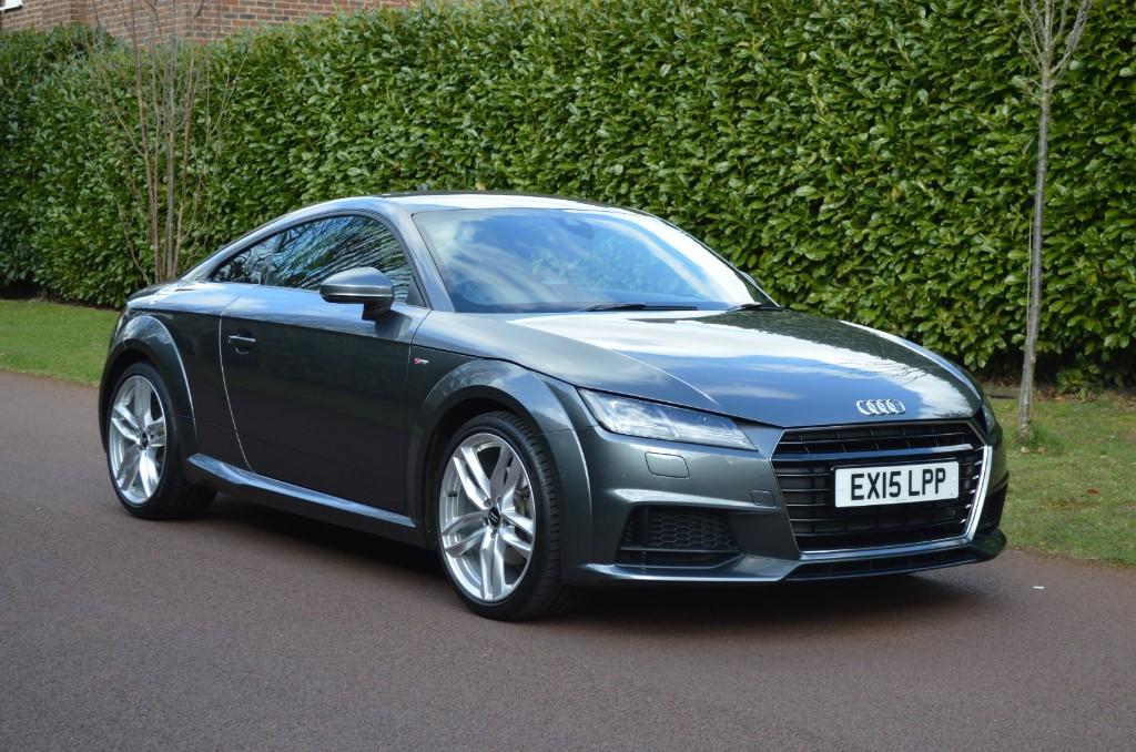 used Audi TT TFSI S LINE in hersham-surrey