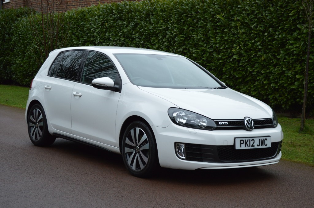 used VW Golf GTD DSG in hersham-surrey