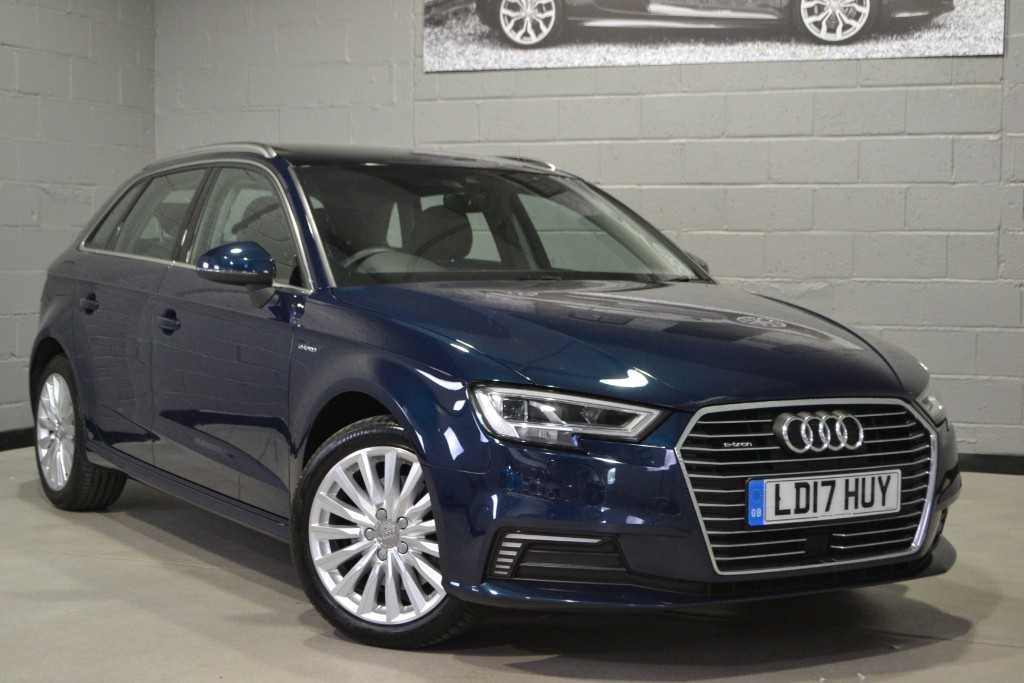 Used Cosmos blue Audi A3 For Sale | Buckinghamshire