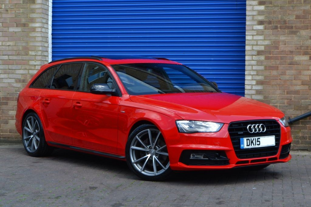 used misano red audi a4 avant for sale buckinghamshire. Black Bedroom Furniture Sets. Home Design Ideas