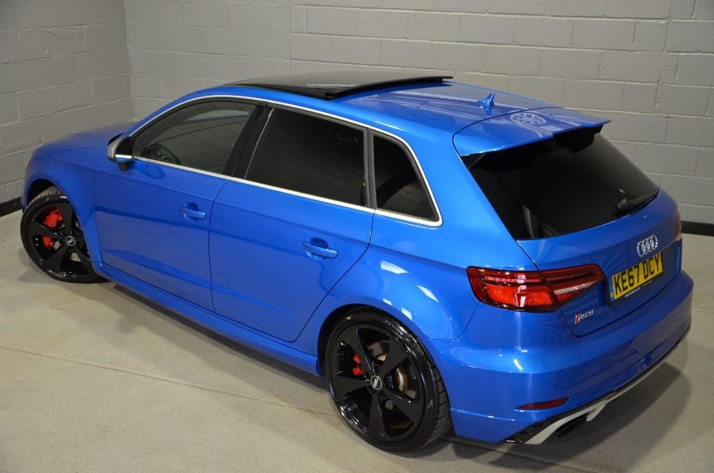 Used Ara blue crystal Audi RS3 For Sale | Buckinghamshire