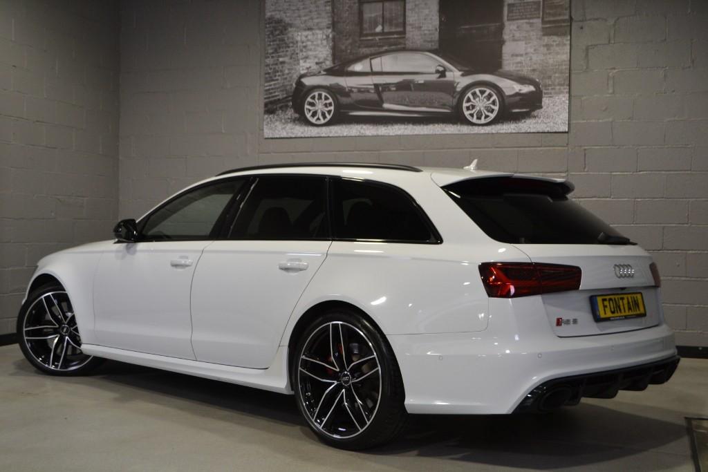 Used Glacier White Audi Rs6 Avant For Sale Buckinghamshire