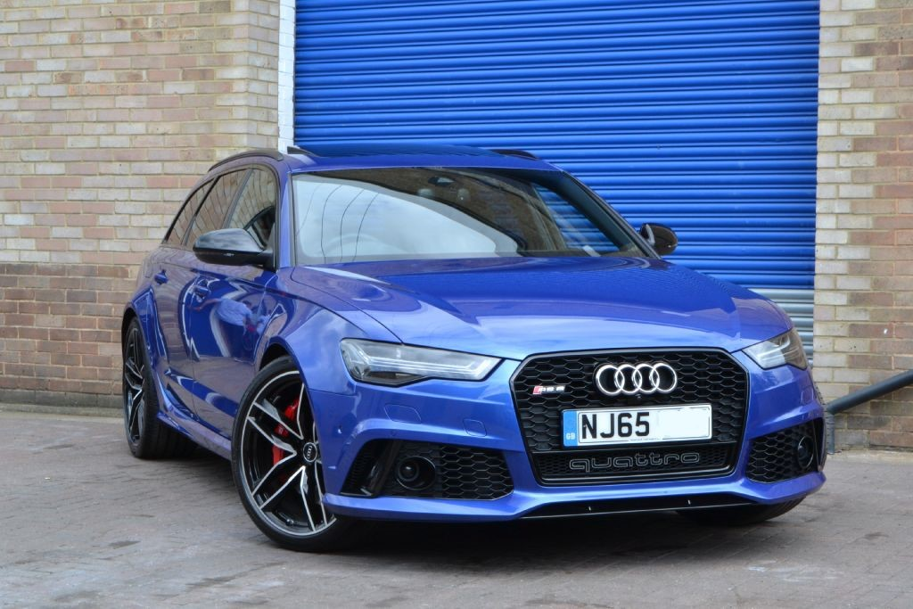 Used Sepang Blue Audi Rs6 Avant For Sale Buckinghamshire