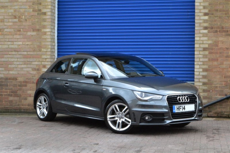 used Audi A1 TFSI S Line 122PS. Panoramic sunroof, Xenons, Rare auto in buckinghamshire