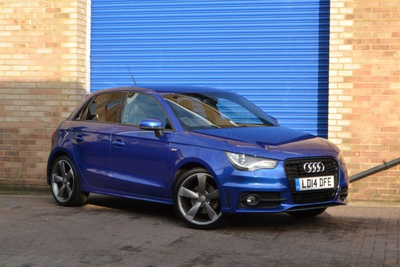 used Audi A1 Sportback TFSI Black Edition 140PS CoD. Supersport seats, S1 lookalike in buckinghamshire