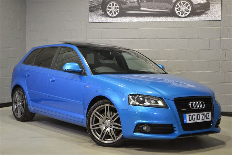 used Audi A3 TDI quattro 170 S Line Black Edition. Panoramic sunroof in buckinghamshire