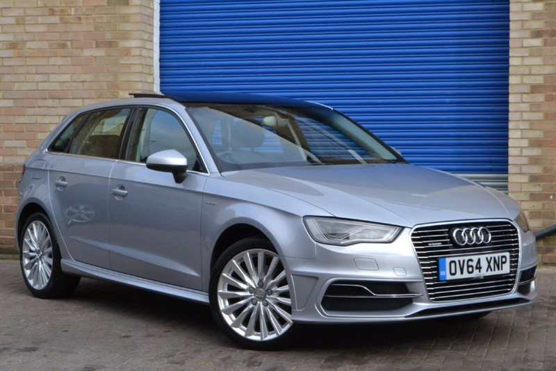 used Audi A3 Sportback E-tron. Pan roof, leather, Heated seats in buckinghamshire