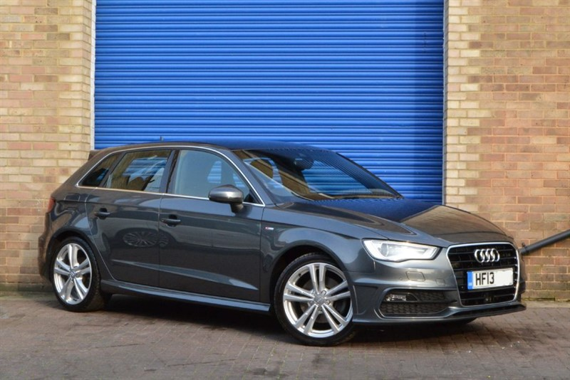 used Audi A3 TFSi S Line 180PS S Tronic. Nav+, Park+, Adap cruise. mega value! in buckinghamshire