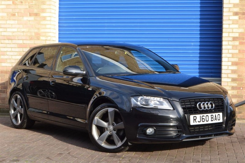 used Audi A3 Sportback TFSI S Line Black Edition S Tronic One owner in buckinghamshire