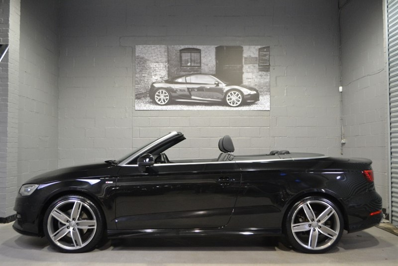 used Audi A3 Cabriolet TFSI quattro S Line 180. Beat the spring prices... in buckinghamshire
