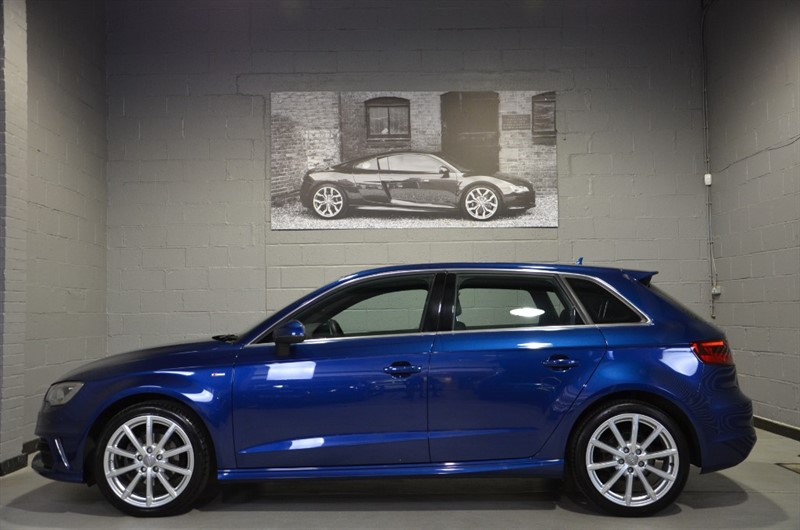 used Audi A3 Sportback TFSI S Line 150PS COD. Big spec, RS3 lights and S3 wheels! in buckinghamshire