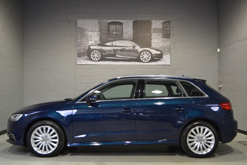 used Audi A3 Sportback e-tron 1.4TFSI 150PS. Facelift, huge specification in buckinghamshire