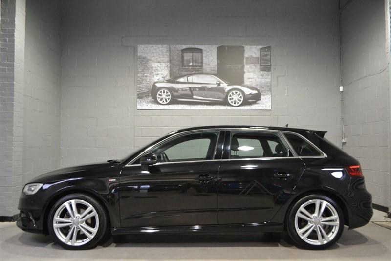used Audi A3 Sportback TDI 150 S Line S Tronic. Sat nav plus, warranty to 2020 in buckinghamshire