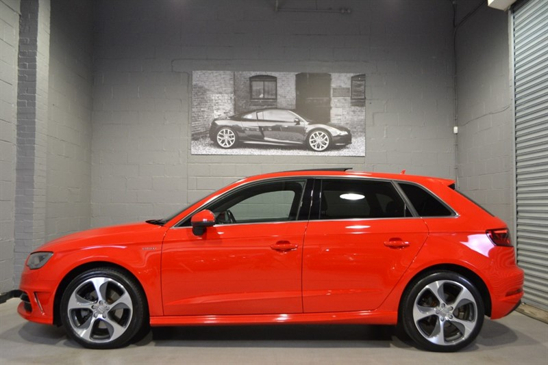 used Audi A3 Sportback E-Tron 1.4 TFSI. Panoramic sunroof, full leather in buckinghamshire