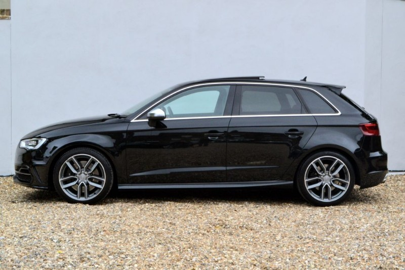 Used Mythos Black Audi S3 For Sale Buckinghamshire