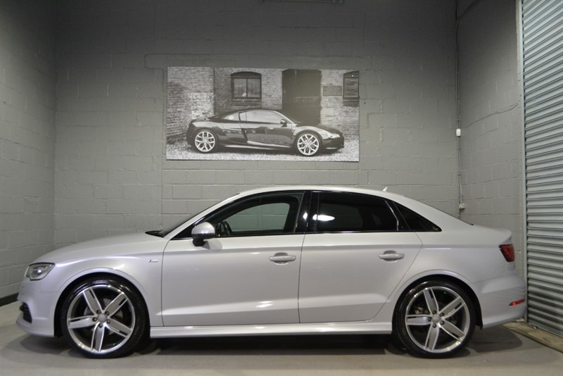 used Audi A3 saloon 1.4 TFSI S Line 150PS. 19s, Black styling, Navigation, Adaptive cruise in buckinghamshire
