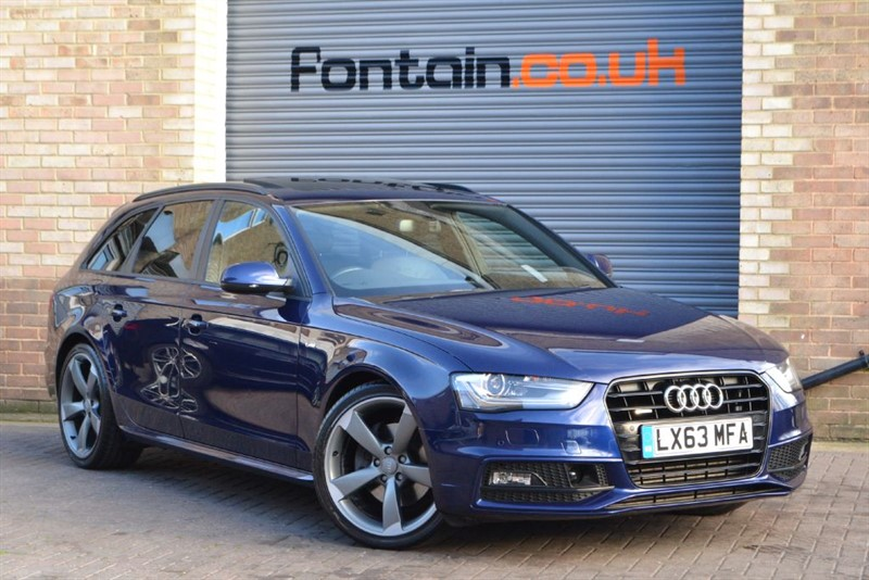 used Audi A4 Avant TDI quattro 245 S Line Black Edition. Best specification in the country in buckinghamshire