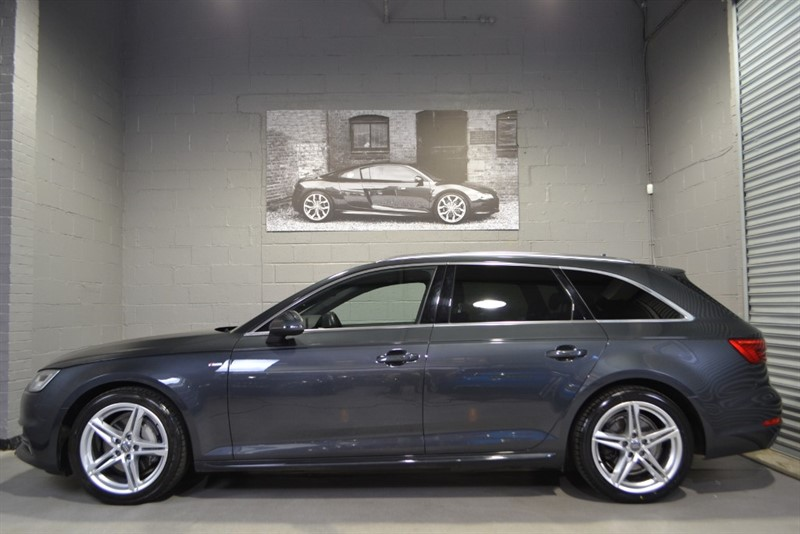used Audi A4 Avant TDI quattro 190 S Line S Tronic. Panoramic glass sunroof! in buckinghamshire
