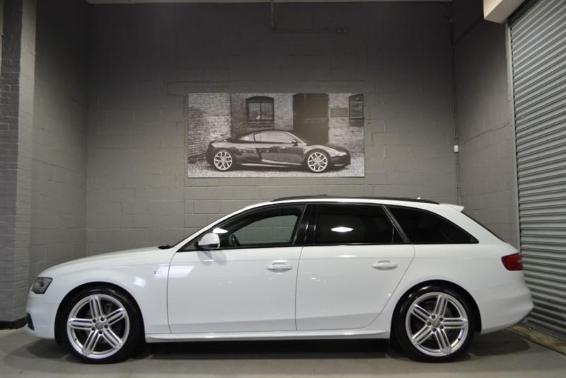 used Audi A4 Avant TFSI quattro S Line Black Edition 225. Panoramic glass sunroof! in buckinghamshire