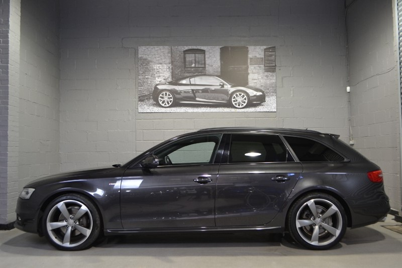 used Audi A4 Avant TFSI quattro Black Edition 225PS. Nav+ & Full leather in buckinghamshire
