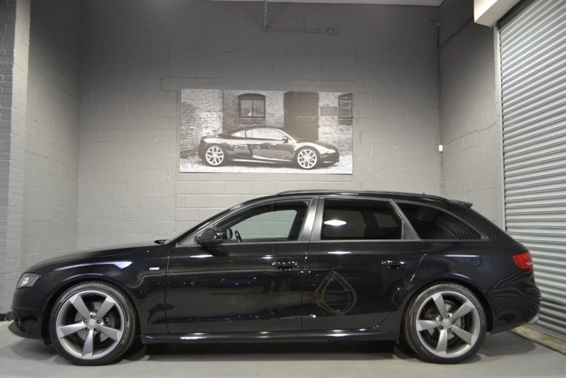 used Audi A4 Avant TFSI quattro S Line Black Edition 211. Nav, B&O, 19