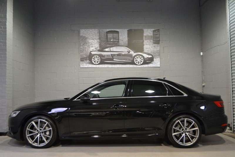 used Audi A4 TFSI quattro S Line 252 S Tronic. Rare petrol four-wheel-drive in buckinghamshire