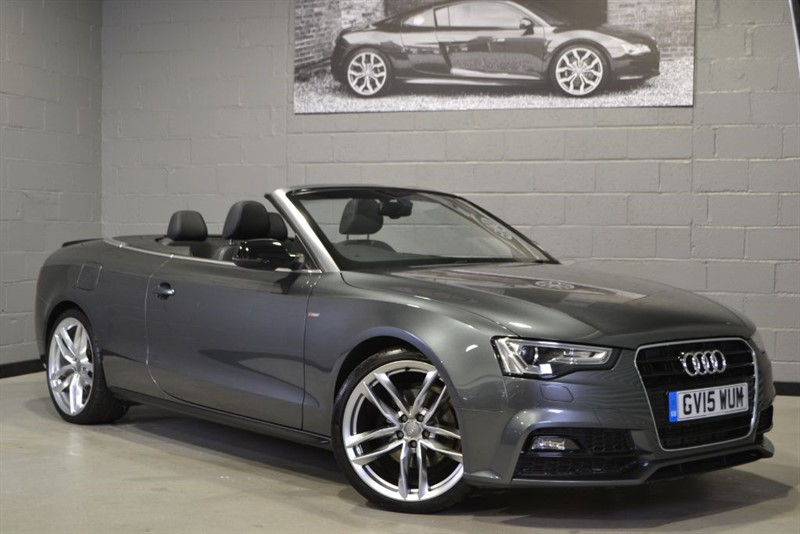 used Audi A5 Cabriolet TFSI 225PS S Line Special Edition Plus. Camera 20s B+O in buckinghamshire