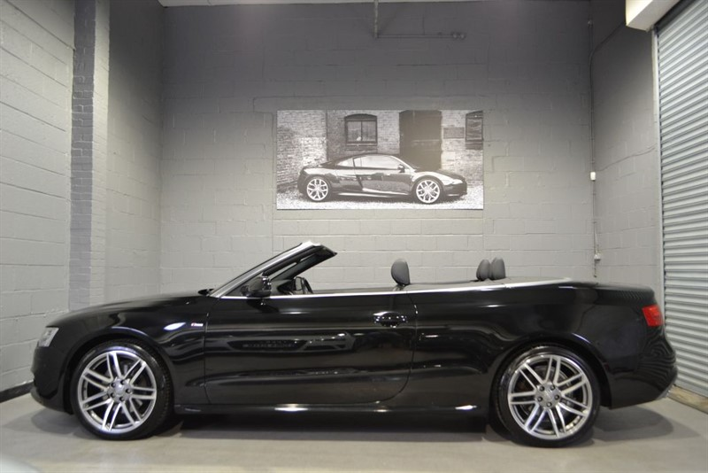 used Audi A5 Cabriolet TFSI quattro 225 S Line Special Edition. Mem seats B+O Camera in buckinghamshire