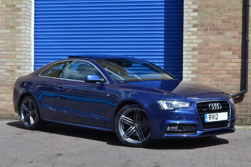 used Audi A5 TDI quattro S Line S Tronic. Sunroof, Massive spec! in buckinghamshire
