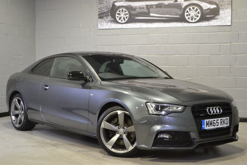 used Audi A5 TDI quattro 245 S Line Black Edition Plus. Mem seats, Camera, Nav+ in buckinghamshire