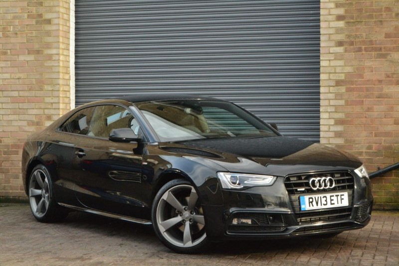 used Audi A5 TFSI quattro S Line Black Edition. Camera, E seats, Adap cruise in buckinghamshire