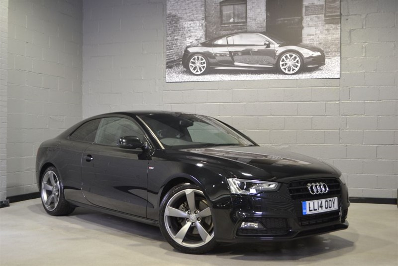 used Audi A5 TFSI S Line Black Edition. Nav+, B&O, Ultra low miles in buckinghamshire