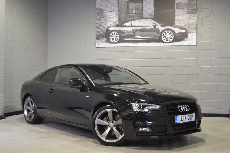 used Audi A5 TFSI S Line Black Edition. Nav+, B&O, Ultra low miles in buckinghamshire