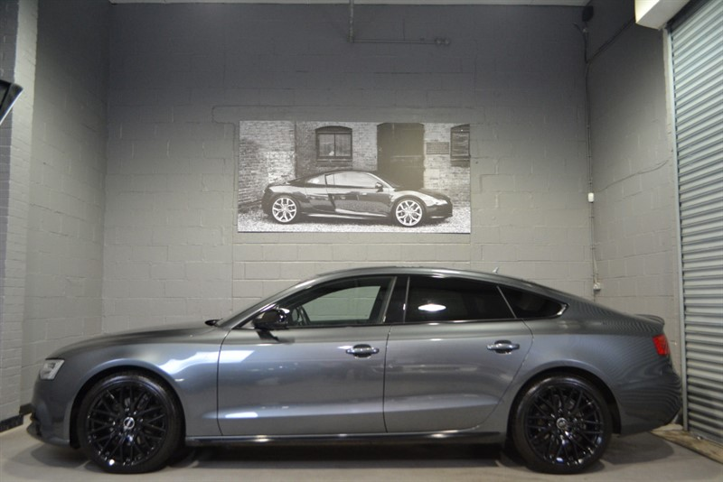used Audi A5 Sportback TFSI S Line Black Edition Plus in buckinghamshire