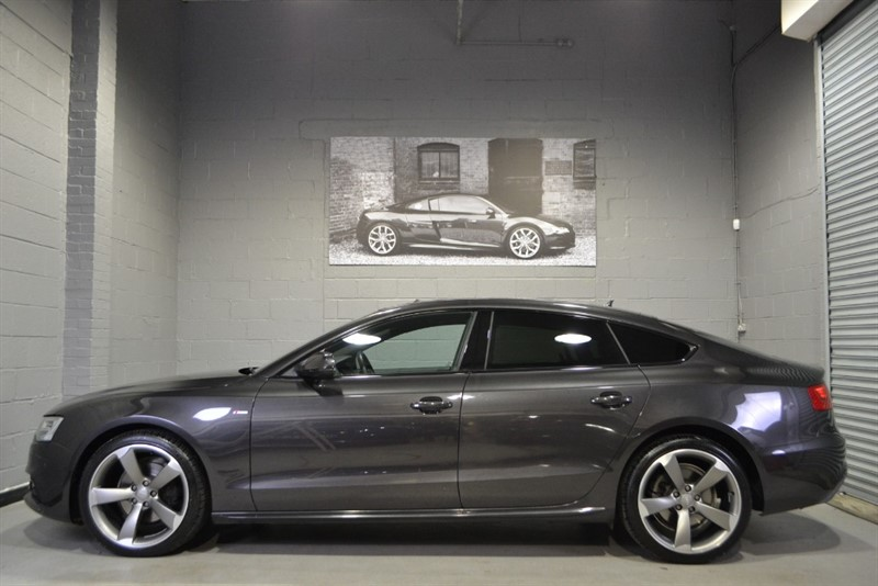 used Audi A5 Sportback TDI quattro S Line Black Edition. Absolutely monster spec! in buckinghamshire