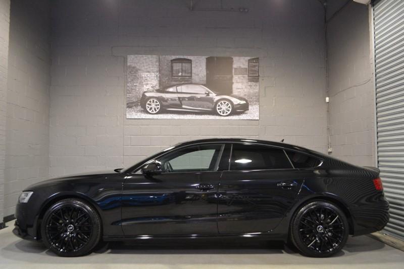 used Audi A5 Sportback TDI quattro S Line Black Edition Plus (245), MMI Sat Nav, Heated Seats in buckinghamshire