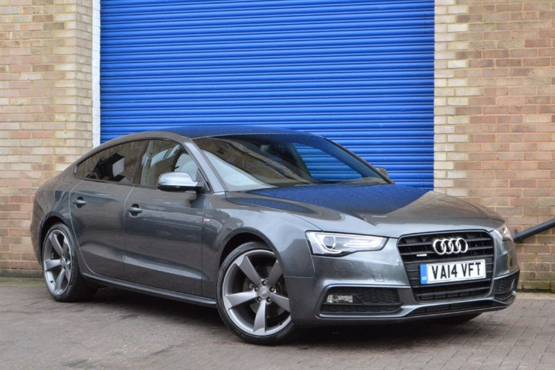 used Audi A5 Sportback TFSI 225 quattro S Line Black Edition, Rare Car, Great Spec! in buckinghamshire
