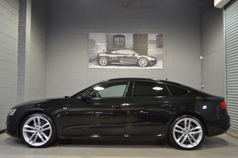 used Audi A5 Sportback TFSI quattro S Line Black Edition Plus 5 seat. Nav+ Camera 20s in buckinghamshire