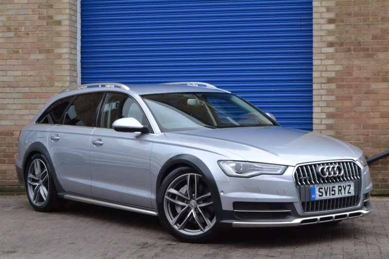 "used Audi A6 allroad BiTDI 320 quattro (facelift). 20"" wheels, Heated and cooled comfort seats in buckinghamshire"