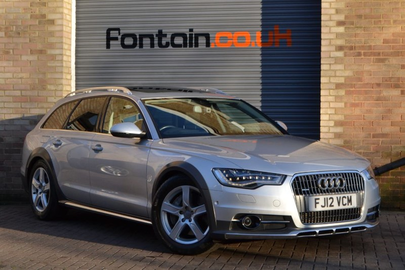 used Audi A6 allroad BiTDI quattro 313PS. £18,000 in options, a £67,000 car! in buckinghamshire