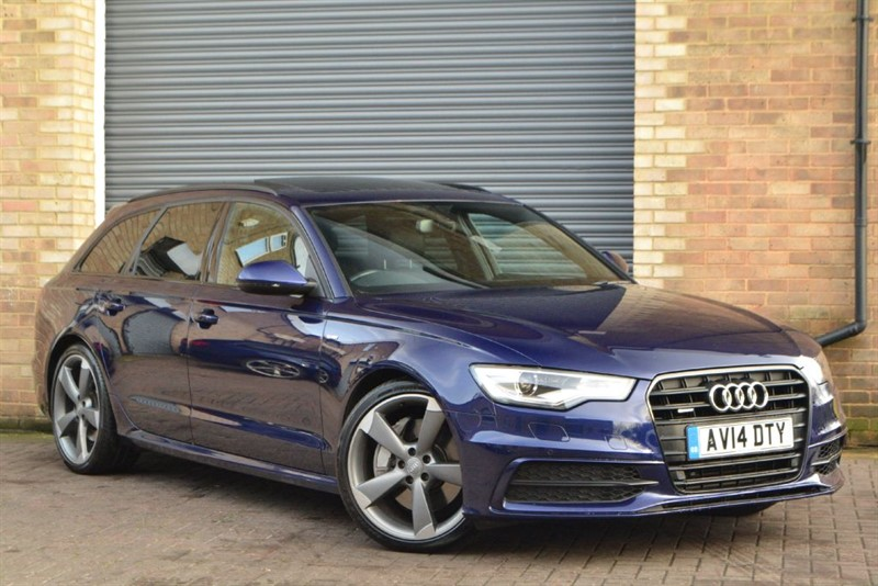 used Audi A6 Avant BiTDI quattro 313 S Line Black Edition. Panoramic sunroof, Exclusive paint in buckinghamshire